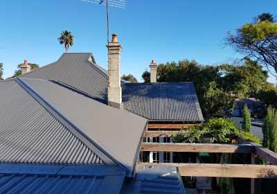 roof repairs sydney custom orb