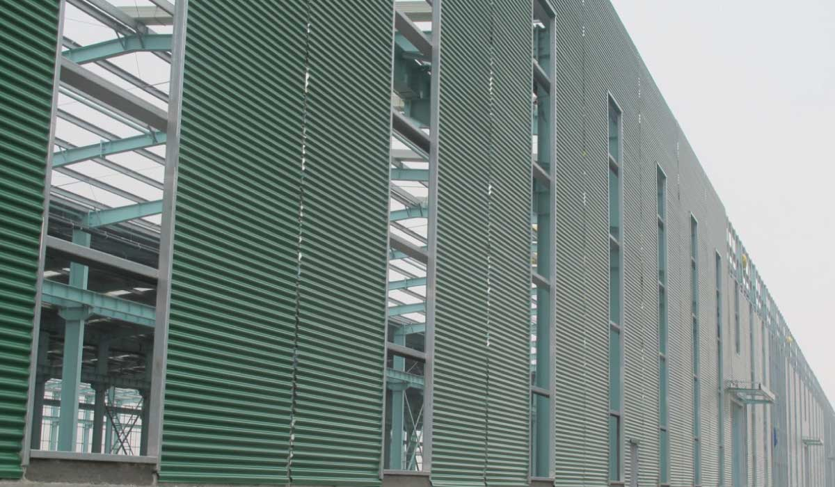 Cladding on Factory Sydney