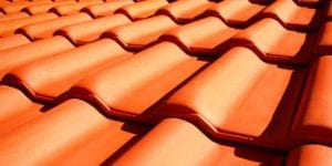 sydney roof repairs close up roof tiles