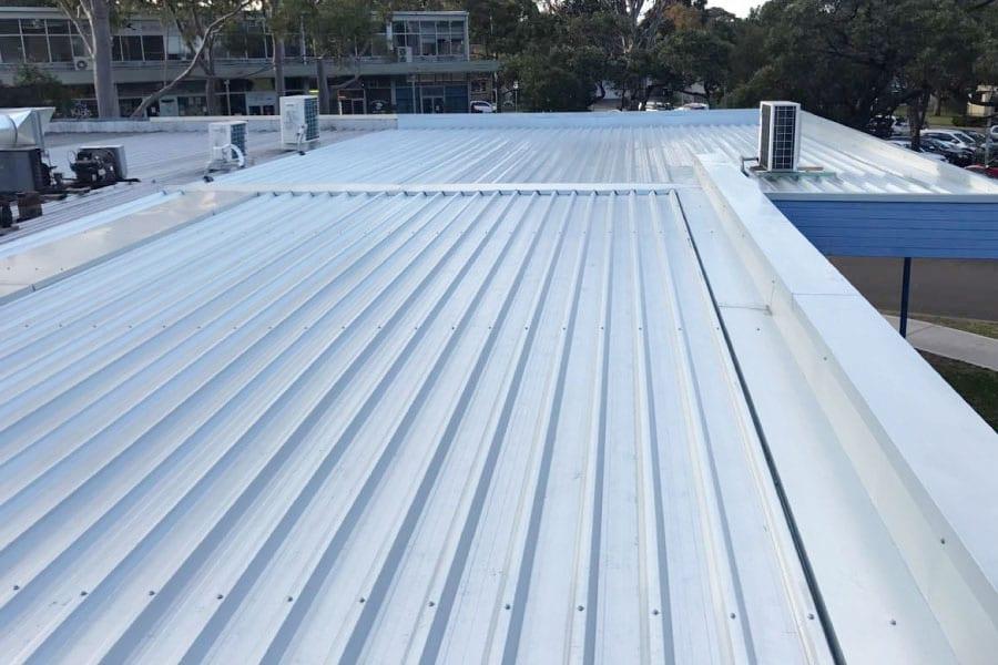 after metal roof repairs sydney northside