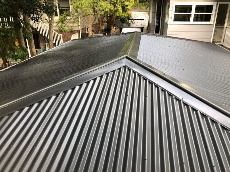 colorbond metal roof sydney west