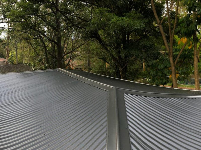 colorbond metal roof sydney northern beaches