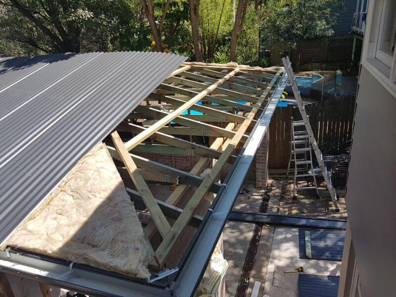 colorbond metal roof sydney