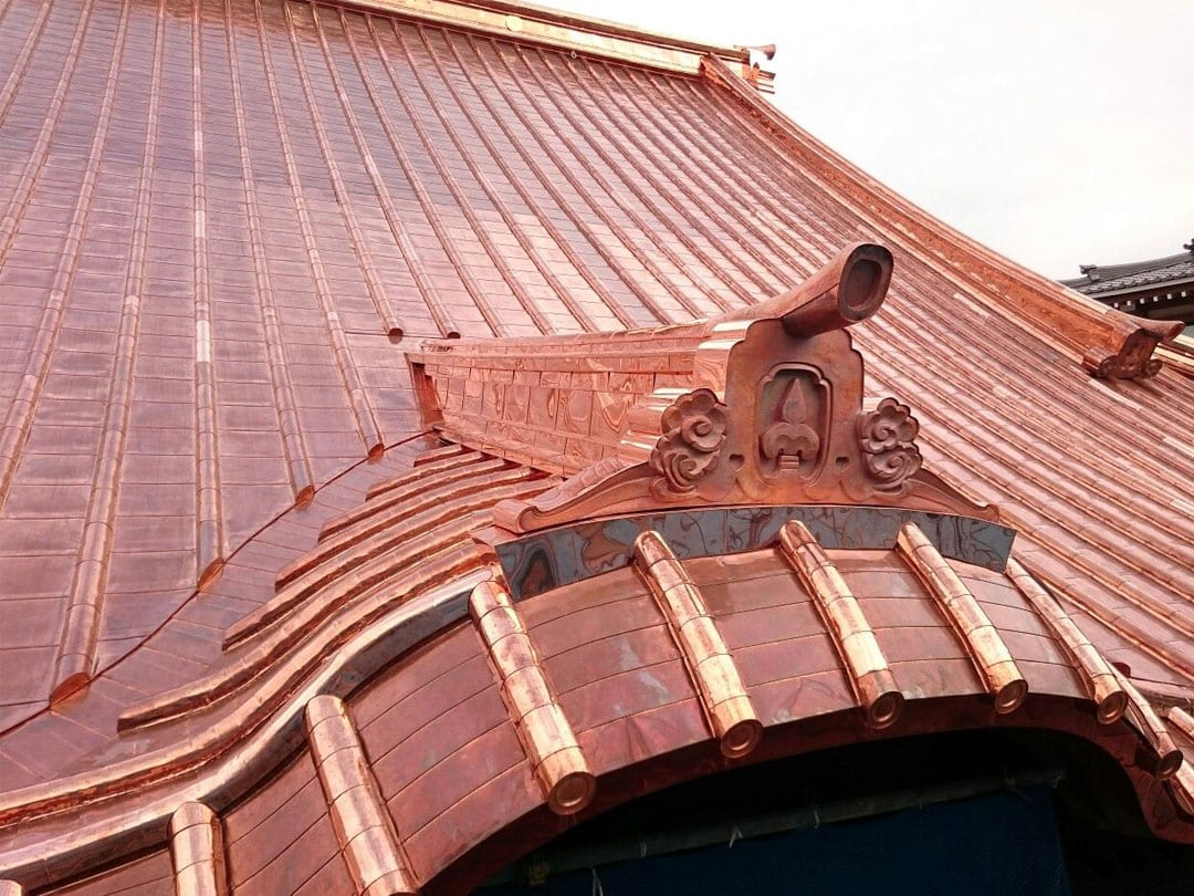 copper metal roof sydney