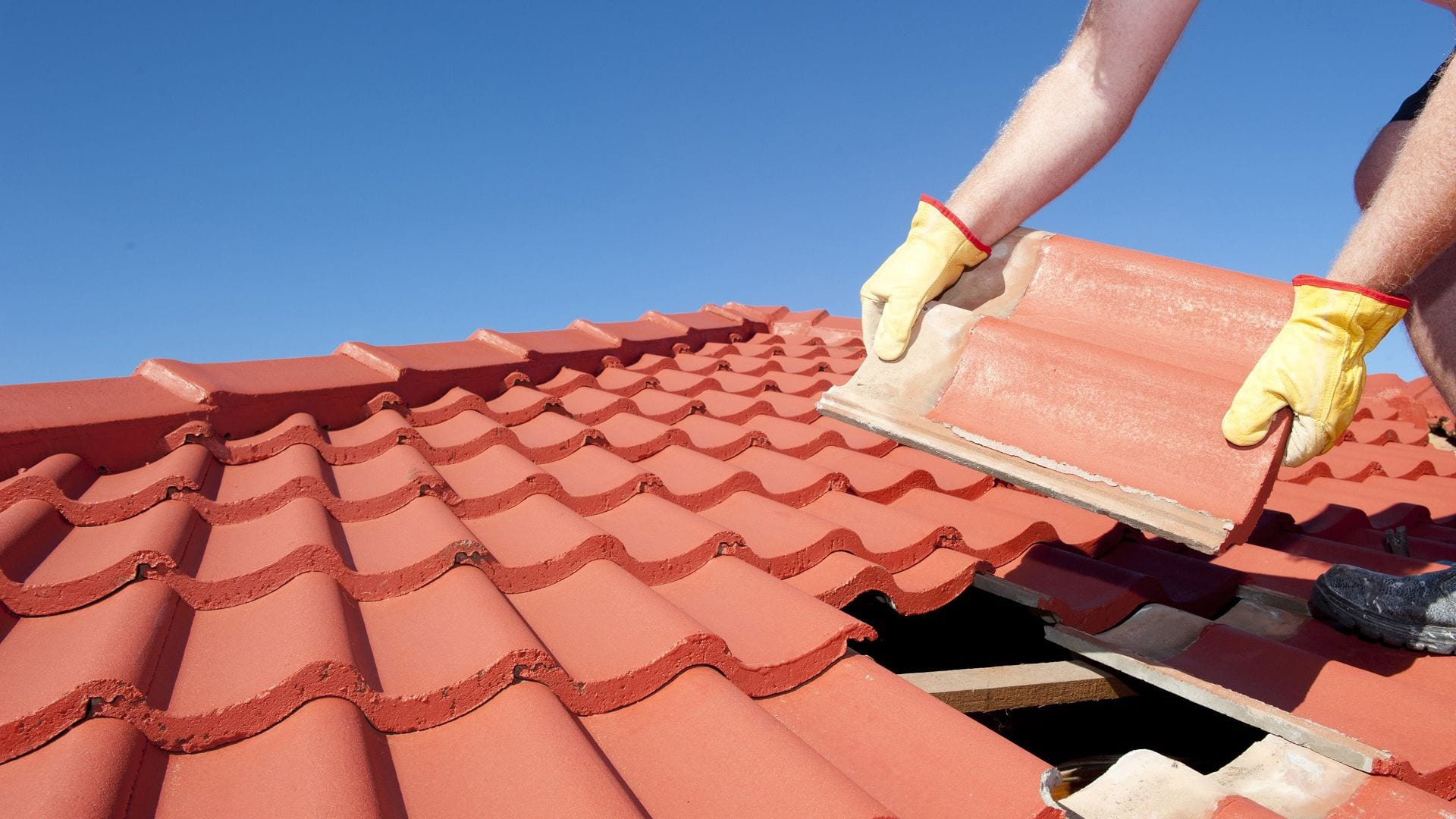 tile metal roof repair sydney